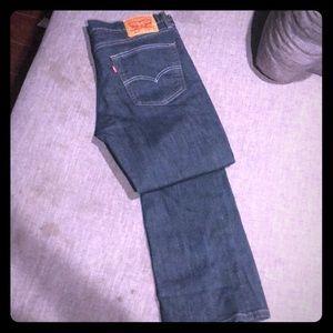 Men's Levi 511 36 32 jeans